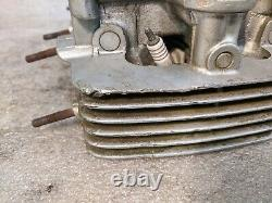 1971 Honda CB 500 CB500 CB500/4 F FOUR SOHC engine cylinder head, valve gear