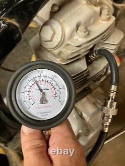 1974 honda tl125 engine transmission cylinder head 120 psi ahrma vintage trials