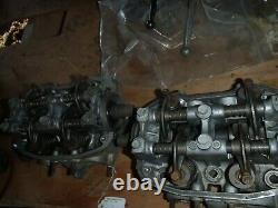 1975 Honda Goldwing GL 1000 left/right cylinder heads camshafts