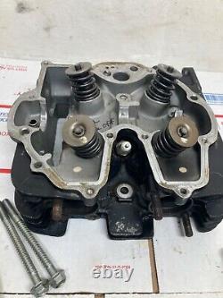 1983 honda xr500r xr500 xr 500 cylinder head valves springs hardware 1984