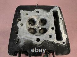1984-85 Honda XL350R XL 350 R Engine Cylinder Head Bare with Guides CLEAN