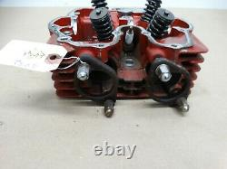 1986 Honda XL250R Red Cylinder Head With Valves b532
