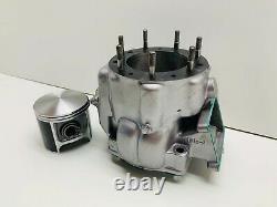 1991 91 Honda CR500 CR 500 Engine Motor Top End Cylinder Head Jug Piston 89-01