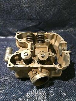 2000 00 Honda Xr650r Xr 650 Xr 650r Cylinder Head Top End Valves DAMAGED