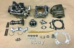 2007 04-07 Honda CRF 250 CRF250r Top End Cylinder Head Cam Valves Cover Piston
