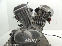 92 Honda Shadow Vt600c Vt 600 Complete Engine Motor Cylinder Head Cases Assy C