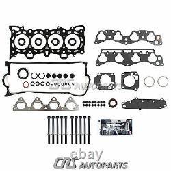 96-00 Honda 1.6L SOHC Cylinder Head Gasket Bolt Kit Set D16Y5 D16Y7 D16Y8 Engine
