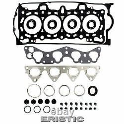96-00 Honda Civic 1.6 D16Y5 D16Y7 D16Y8 Head Gasket Set Headbolt Timing Belt Kit