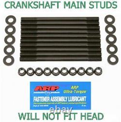 ARP-MSK-K24 Main Crank Stud Kit Honda Acura K20 K24 RSX TSX NOT-head-STUDS