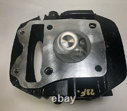 BLACK Honda GROM / MSX 125 / Monkey 125 Oversize Valves Ported Cylinder Head