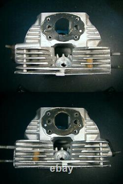 Cb175/cl175/sl175 Cylinder Head With Cam Holders, Valve Train & Ignition Advance