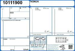 Cylinder Head Gasket Set HONDA ACCORD TYPE R 16V 2.2 212 H22A7 (2/1999-12/2002)