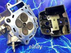 Cylinder Head Top End Valves Cam Kit Engine Motor Honda Crf450x 2005-2017