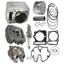 Cylinder Piston Gasket Head Top End Kit for Honda Sportrax TRX400EX 1999-2008