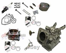 Engine Block Replaces Honda GX200 Cylinder Head Camshaft Connecting Rod Gaskets