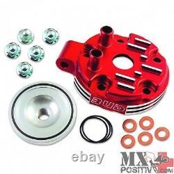 Head Cylinder Honda Cr 125 R 2002-2007 BUD RACING Red/Red BUD2THEADCR125RR