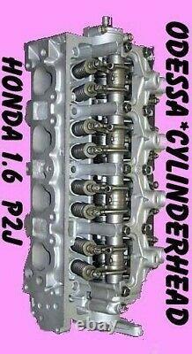 Honda CIVIC Ex Del Sol 1.6 Vtec#p2j Sohc Cylinder Head 96-99 Early No Core Reman