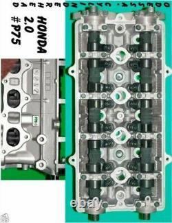 Honda Crv 2.0 Dohc #p75 Cylinder Head 97-01 No Core Required Rebuilt