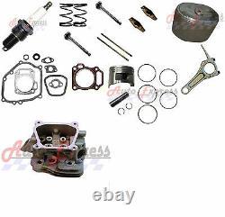 Honda GX240 8HP Piston Kit Connecting Rod Air Filter Cylinder Head Rocker Arms