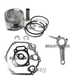 Honda Gx390 13hp Assembled Cylinder Head Piston Rod Gaskets Engine Rebuild Kit