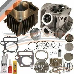Honda Xr70 Xr 70 Xr70r Cylinder Piston Rings Gasket Cylinder Head 1997 2003