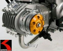 Kitaco #310-1300170 Spinner cylinder head side cover / GOLD / Honda Monkey 125