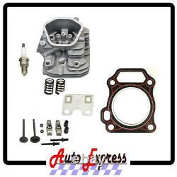 NEW Honda GX240 Gx270 CYLINDER HEAD Complete ENGINE FREE HEAD GASKET 8Hp or 9Hp