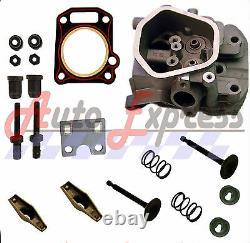 New Honda GX340 11HP Rocker Cylinder Head Kit Inlet & Exhaust Valves Head Gasket