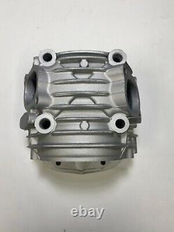 SILVER Honda Monkey / MSX 125 / GROM 125 Oversize Valves Ported Cylinder Head