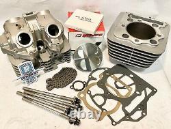 TRX400EX TRX 400EX Head Top End Rebuild Kit Complete Cylinder Piston Wiseco
